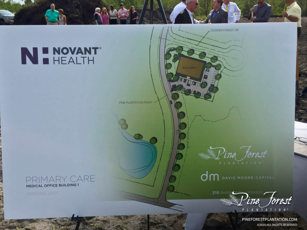 Brunswick County Novant Health Medical Office Building Site Plan