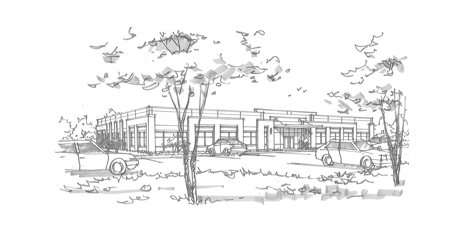 Novant Health Medical Campus at Pine Forest artist's rendering