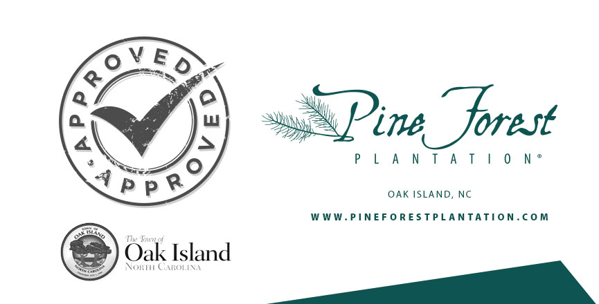 The Town of Oak Island approves planned community Pine Forest Plantation.