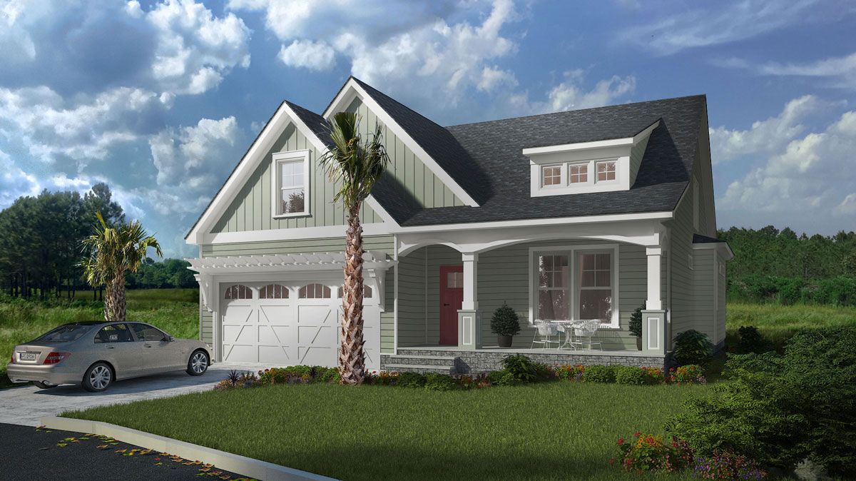 Residential Homes for Active Adult Living at Pine Forest of Oak Island, NC