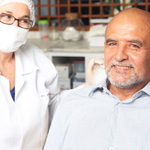 Dental care for seniors at Pine Forest medical campus