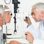 Optometry care for seniors at Pine Forest medical campus
