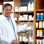 Pharmacy for seniors at Pine Forest medical campus