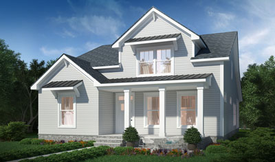 Pine Forest Savannah home rendering