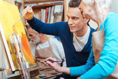 Arts and Creativity - Amenities for Seniors at Pine Forest