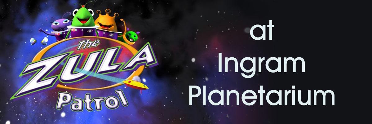 Zula Patrol: Under the Weather - Animated show at Ingram Planetarium