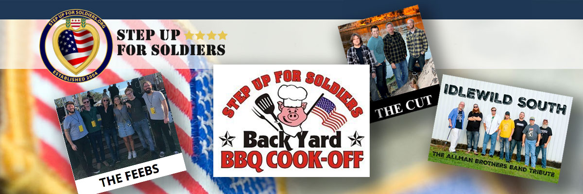 Step Up For Soldiers Backyard BBQ
