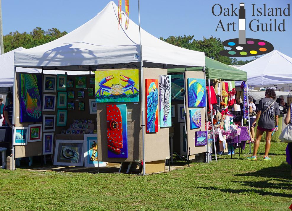 Oak-Island-Art-Guild-Annual-Arts-and-Crafts-Festival